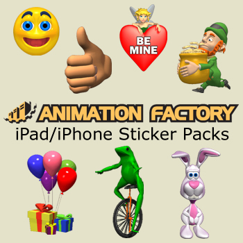 iPhone/iPad Animated Sticker Packs